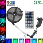 Полноцветная светодиодная лента LED Strip SMD 5050 - 5м (комплект, пульт 44 кнопки)