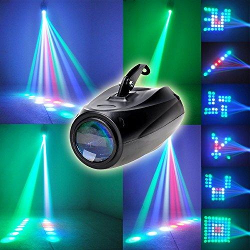 Светодиодный проектор для танцпола LED Small Airship Manual со звуковой активацией