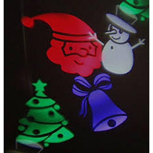 Декоративный влагостойкий новогодний LED проектор LED Christmas Projector RGBW