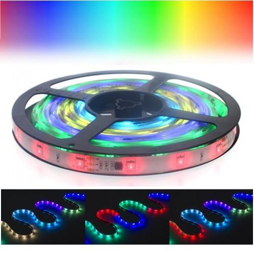 Цветная светодиодная лента LED Strip Dream Color SMD 5050 - 5м (влагозащищенная, режим Auto Run)