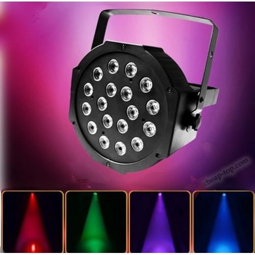 Фоно-заливочный RGB прожектор LED Par Light 18W