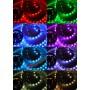 Цветная влагозащищенная светодиодная лента RGB 5050 - 5м, набор