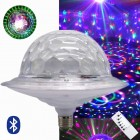 Дисколампа LED UFO Crystal Magic Ball 6 Light с Bluetooth и MP3