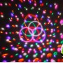 Светодиодный дискошар в патрон E27 LED UFO Bluetooth Crystal Magic Ball, 6 цветов