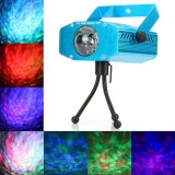 Светодиодный проектор воды LED Water Ripples Light, цветной RGB
