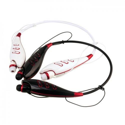 Гарнитурные стерео наушники вакуумные с MP3 плеером и FM радио LG Tone S740T