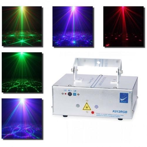 Трехцветная лазерная светомузыка Laser Stage Seven Stars K012RGB