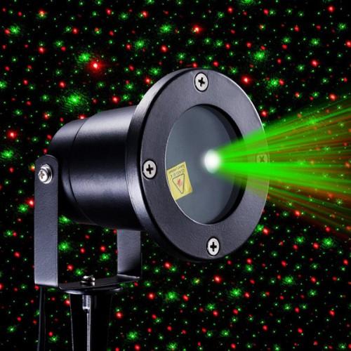 Уличный декоративный лазерный проектор Red & Green Waterproof Laser Shower