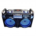 Портативная акустика MJ HMiK MK-170 (Bluetooth, USB, micro SD, FM, AUX, Mic)