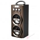 Мобильная акустическая стерео-система MS-46 (USB, SD, FM, AUX)