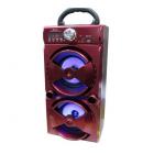 Мобильная акустическая стерео-система MS-51 (Bluetooth, USB, SD, FM, AUX)