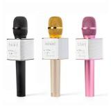 Беспроводная колонка - микрофон караоке MicGeek Q9 (Bluetooth, MP3, AUX, KTV)