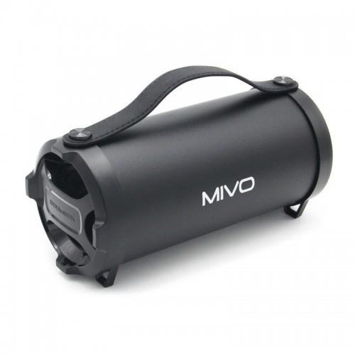 Портативный мини бумбокс Mivo M06 (Bluetooth, USB, MicroSD, FM, AUX, Mic)