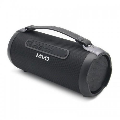 Портативный мини бумбокс Mivo M08 (Bluetooth, USB, MicroSD, FM, AUX, Mic)