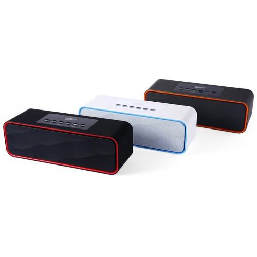 Компактная Bluetooth стерео система с двумя басс-мембранами Musky DY-22