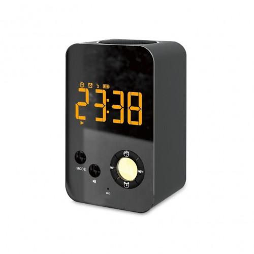 Функциональная беспроводная колонка с часами, календарем и будильником Musky DY-38