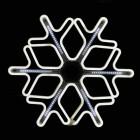 Новогодняя светодиодная Снежинка 60 см