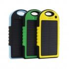 Влагостойкий cолнечный Power Bank 5000 mAh Solar Charger YD-T011