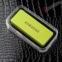 Универсальный мобильный повербанк для смартфона с логотипом iPhone и Samsung 6000 мАч