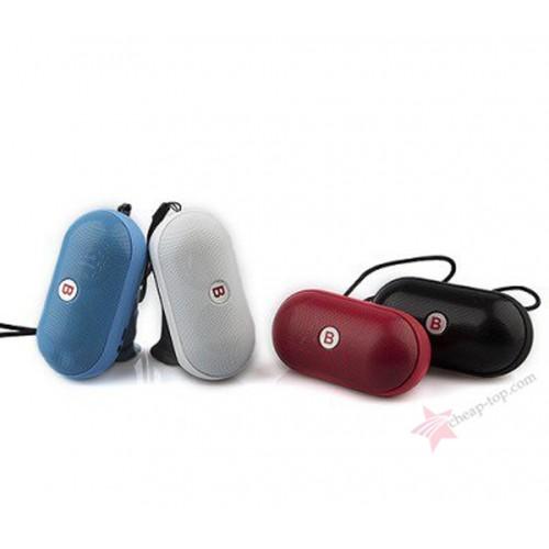 Портативная мини колонка Pill Mini YPS-B15 (Bluetooth, MP3, FM, AUX, Mic)