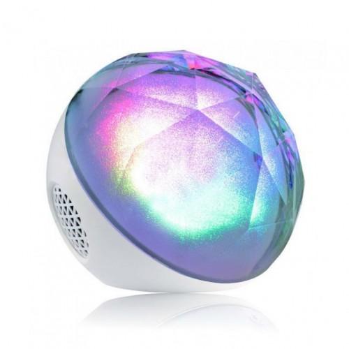 Цветомузыкальная колонка Bluetooth Magic Color Ball Speaker Q8