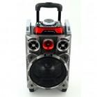 Мобильная акустическая стерео-система RX-1010 (Bluetooth, USB, microSD, FM, AUX, Mic, LED)