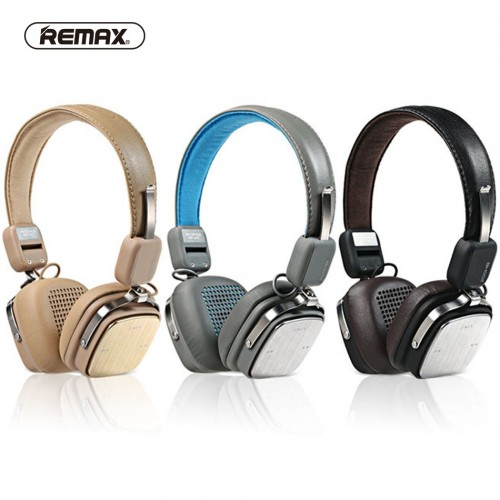Bluetooth стерео-наушники Remax RB-200HB (Bluetooth, AUX, Mic)