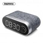 Колонка-часы Remax RB-M26 (Bluetooth, MP3, FM, AUX, Mic, часы, будильник)