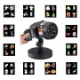 Декоративный влагостойкий уличный проектор LED 12 Pattern Projector Full Color