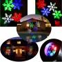Декоративный влагостойкий новогодний LED проектор LED Snowflake Projector RGBW
