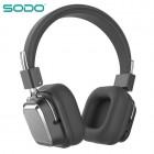 Беспроводные наушники Sodo SD-1003 (Bluetooth, MP3, FM, AUX, Mic)
