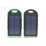 Внешний аккумулятор Solar Panel Power Bank EK-7 16800 mAh с фонарем