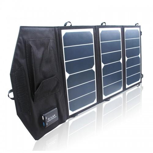 Раскладная высокоэффективная заряжающая солнечная панель 19W