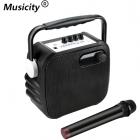 Мобильная акустическая комбо-система Musicity T-2318A (Bluetooth, USB, SD, FM, AUX, REC, Mic)