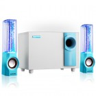Мультимедийная аудио система 2.1 Sunsure Water Dancing Q80 (Bluetooth, MP3, FM, AUX)