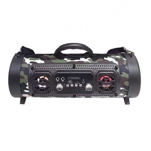 Портативный стерео бумбокс SUNTEK CH-M17 (Bluetooth, USB, micro SD, FM, AUX, Mic)