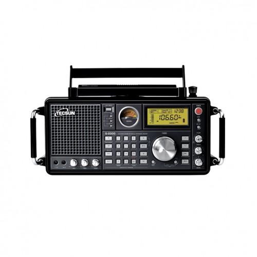 Современный всеволновой цифровой радиоприемник профессионального уровня Tecsun S-2000