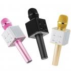 Беспроводная колонка - микрофон караоке Tuxun Q7 (Bluetooth, MP3, AUX, KTV)