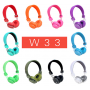Беcпроводные наушники Bluetooth WL-W33 (Bluetooth, MP3, FM, AUX, Mic)