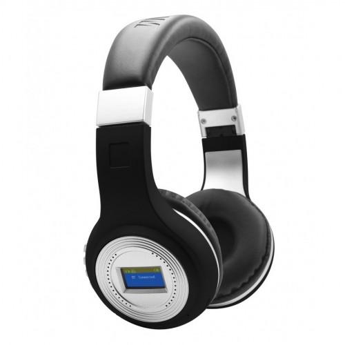 Bluetooth стерео-гарнитура с встроенным MP3 плеером, радио и LED Экраном Wireless MDR-471