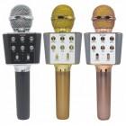 Беспроводной Микрофон Караоке Wster WS-1688 (Bluetooth, MP3, AUX, KTV, REC)