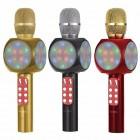 Беспроводная колонка - микрофон караоке Wster WS-1816 (Bluetooth, MP3, FM, AUX, KTV)