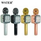 Беспроводной Караоке Микрофон Wster WS-1818 (Bluetooth, MP3, FM, AUX, KTV, Rec)