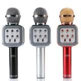 Беспроводная колонка - микрофон караоке Wster WS-1818 (Bluetooth, MP3, FM, AUX, KTV, Rec)