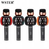 Беспроводной Караоке Микрофон Wster WS-2911 (Bluetooth, MP3, FM, AUX, 4Voise, KTV, REC)