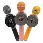 Беспроводной Микрофон Караоке Wster WS-668 (Bluetooth, MP3, FM, AUX, KTV, Rec, 4Voise)