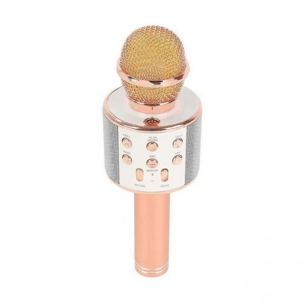 Star Voice Wster Ws 858 Mic Bluetooth Smule Usb Microsd Aux