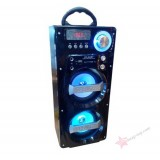 Универсальная стерео-колонка с подсветкой Wster WS-862 BT (Bluetooth, USB, SD, FM, AUX)