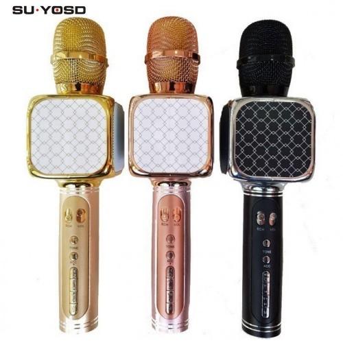 Портативная Колонка-Микрофон Magic Karaoke SU·YOSD YS-69 (Bluetooth, USB, TF, AUX)