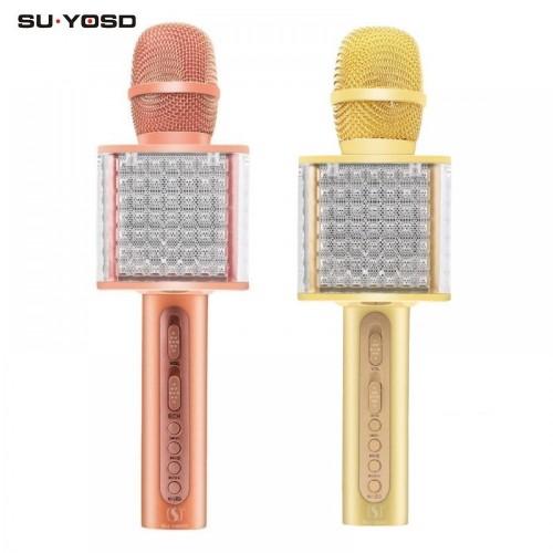 Портативная Колонка-Микрофон Magic Karaoke SU·YOSD YS-86 (Bluetooth, USB, TF, AUX)